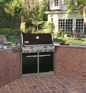 Weber Outdoor BBQ Kitchens - Weber BBQs