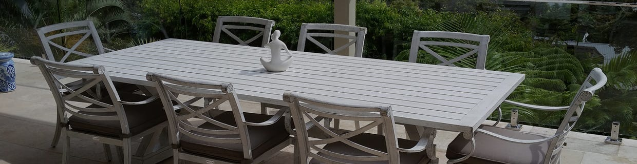 Aluminium Dining Tables