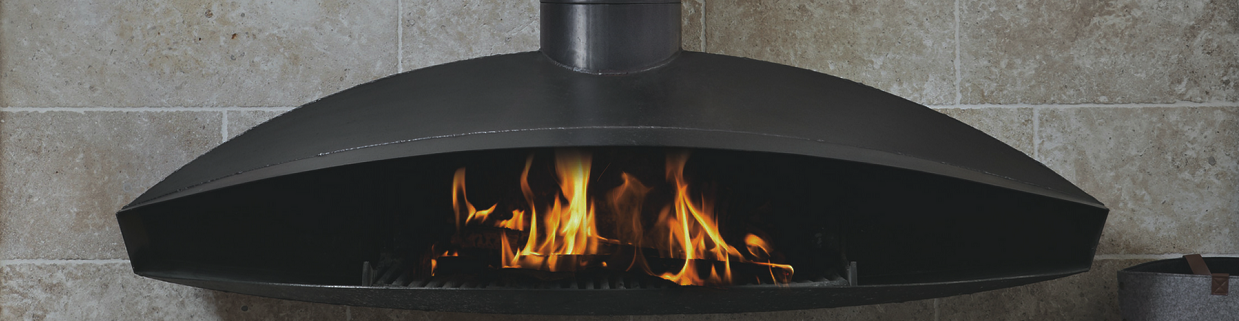 Oblica Wood Burning Fireplaces