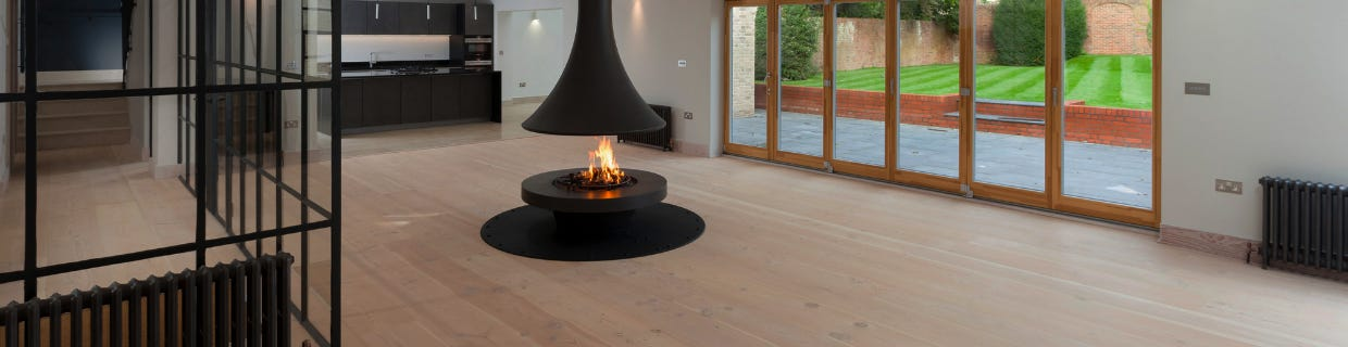 Bordelet Wood Burning Suspended Fireplaces