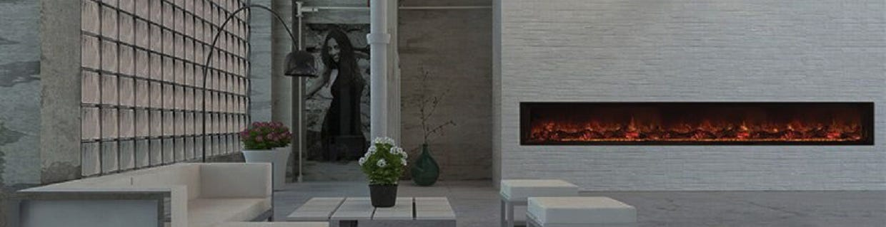 Landscape FullView Built In Electric Fireplaces