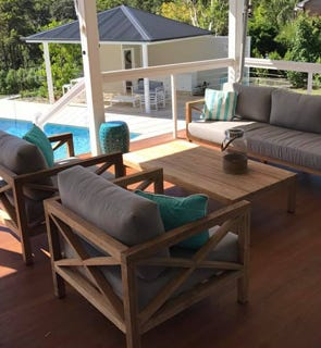 Timber Outdoor Lounges - Outdoor Lounges