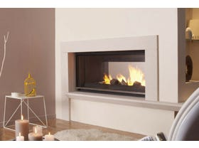 Cheminees Philippe Radiante 1001 DF Fireplace