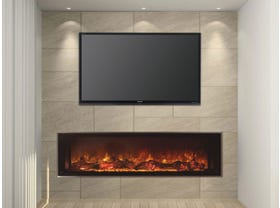 Modern Flames Landscape FullView 1500 Built In Electric Fireplace