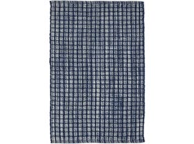 Dash & Albert Coco Outdoor / indoor Rug in Blue