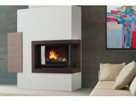 Cheminees Philippe Radiante 873 2V SR Fireplace