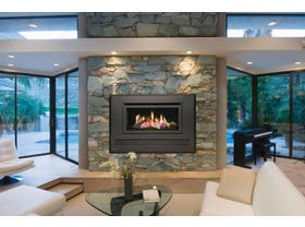 Coonara Barossa Inbuilt Gas Log Fireplace