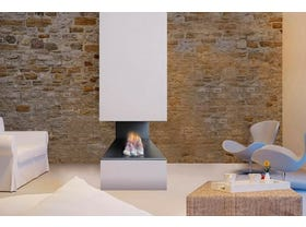 Jetmaster Kemlan Horizon 3 Sided Gas Fireplace