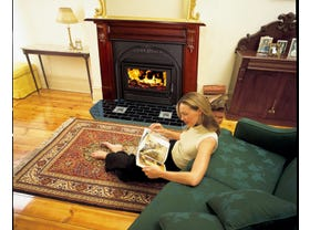 Heatcharm I500 Victorian Inbuilt Wood Burning Fireplace