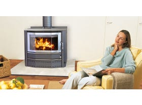 Heatcharm Port Phillip c600 Wood Burning Fireplace