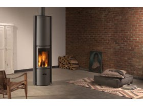 Stuv 30 Compact H Slow Combustion Wood Burning Fireplace