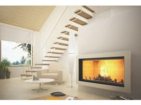 Axis H1200 Wood Burning Fireplace