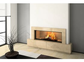 Axis H1600 Wood Burning Fireplace