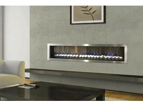 Jetmaster Kemlan Horizon Low Line Inbuilt Gas Fireplace