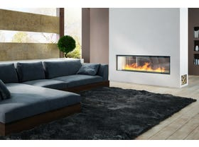 Axis H1600XXL Double Sided Wood Burning Fireplace