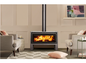 Maxiheat Geo Freestanding Wood Burning Fireplace