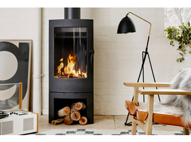 Invicta Argos Wood Burning Fireplace