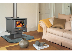 Arrow 2400 Console Freestanding Wood Burning Fireplace