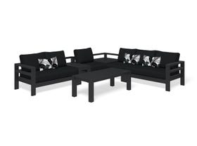 Aspen 5 Seater -Charcoal / Sooty