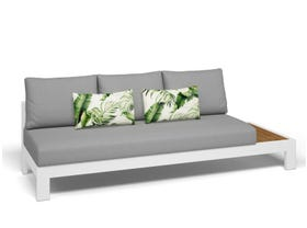 Three seater outdoor lounge