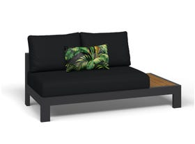 Two seater outdoor lounge