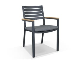 Astra Outdoor Dining Chair -Charcoal