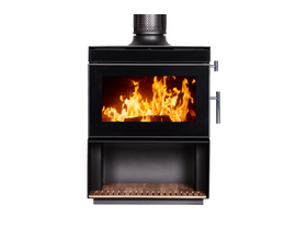 Kent Calisto Large Wood Burning Fireplace