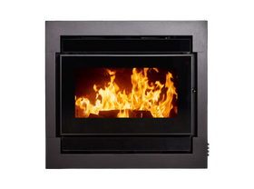 Kent Calisto Large Insert Large Wood Burning Fireplace