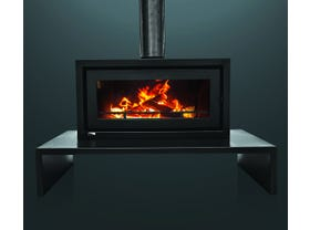 Kemlan Celestial 900 Freestanding Wood Burning Fireplace