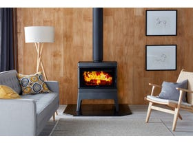 Cleanair Medium Freestanding Console Wood Burning Fireplace