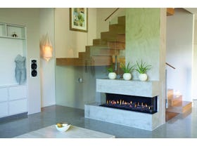 Ortal Three Sided Gas Fireplace- Multiple Sizes Available
