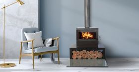 Heatcharm C600 Series 8 Wood Burning Fireplace