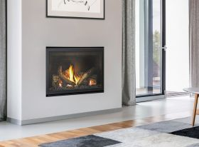 Jetmaster Heat & Glo 5X Inbuilt Gas Burning Fireplace