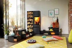 Skantherm Elements 400 Modular Wood Burning Fireplace