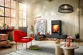 Skantherm Elements 600 Modular Wood Burning Fireplace
