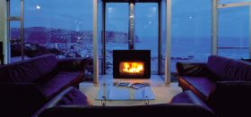 Jetmaster Open Gas Universal Freestanding Gas Fireplace