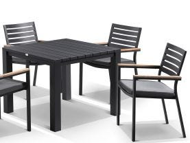 Adele table with Astra  Chairs 5pc Outdoor Dining Setting