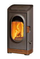 Austroflamm Woody Wood Burning Fireplace