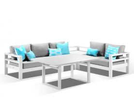 Aspen 5 Seater Outdoor Lounge
