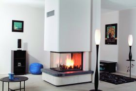 Axis EPI950 Wood Burning Fireplace