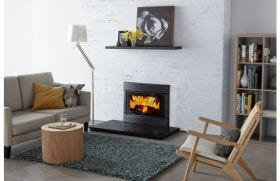 Cleanair Small Insert Wood Burning Fireplace