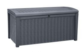 Outstore Borneo Outdoor Storage Box in Charcoal
