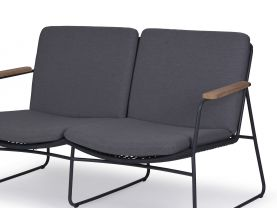 Buru Outdoor Rope 2 Seater Lounge
