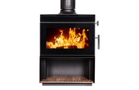 Kent Calisto Medium Wood Burning Fireplace