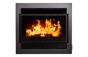 Kent Calisto Medium Insert Wood Burning Fireplace