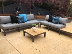 Capri  5 Seater Outdoor Lounge