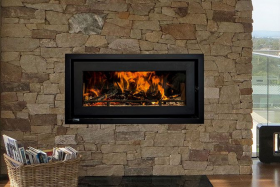 Jetmaster Kemlan Celestial 900 Inbuilt Wood Burning Fireplace
