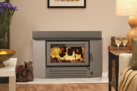 Coonara Settler I-600 Inbuilt Wood Burning Fireplace