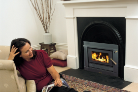 Coonara Compact Inbuilt Wood Burning Fireplace