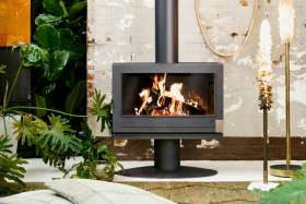 Invicta Elton Wood Burning Fireplace